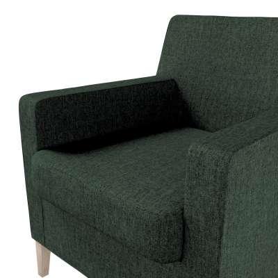 Pokrowiec na fotel Karlstad w kolekcji City, tkanina: 704-81