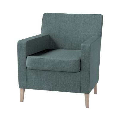 Pokrowiec na fotel Karlstad w kolekcji City, tkanina: 704-85