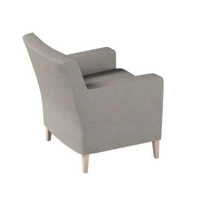 Pokrowiec na fotel Karlstad w kolekcji Madrid, tkanina: 161-91