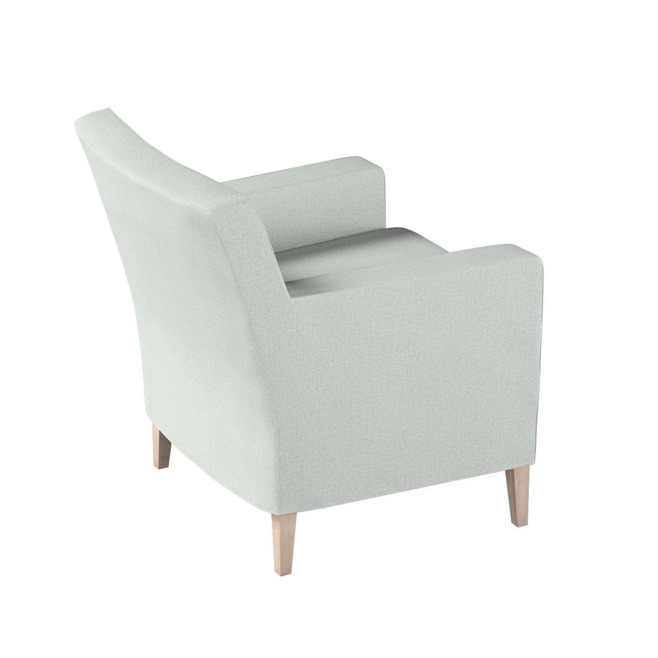 Pokrowiec na fotel Karlstad w kolekcji Living, tkanina: 161-41