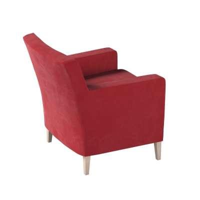 Pokrowiec na fotel Karlstad w kolekcji Christmas, tkanina: 704-15