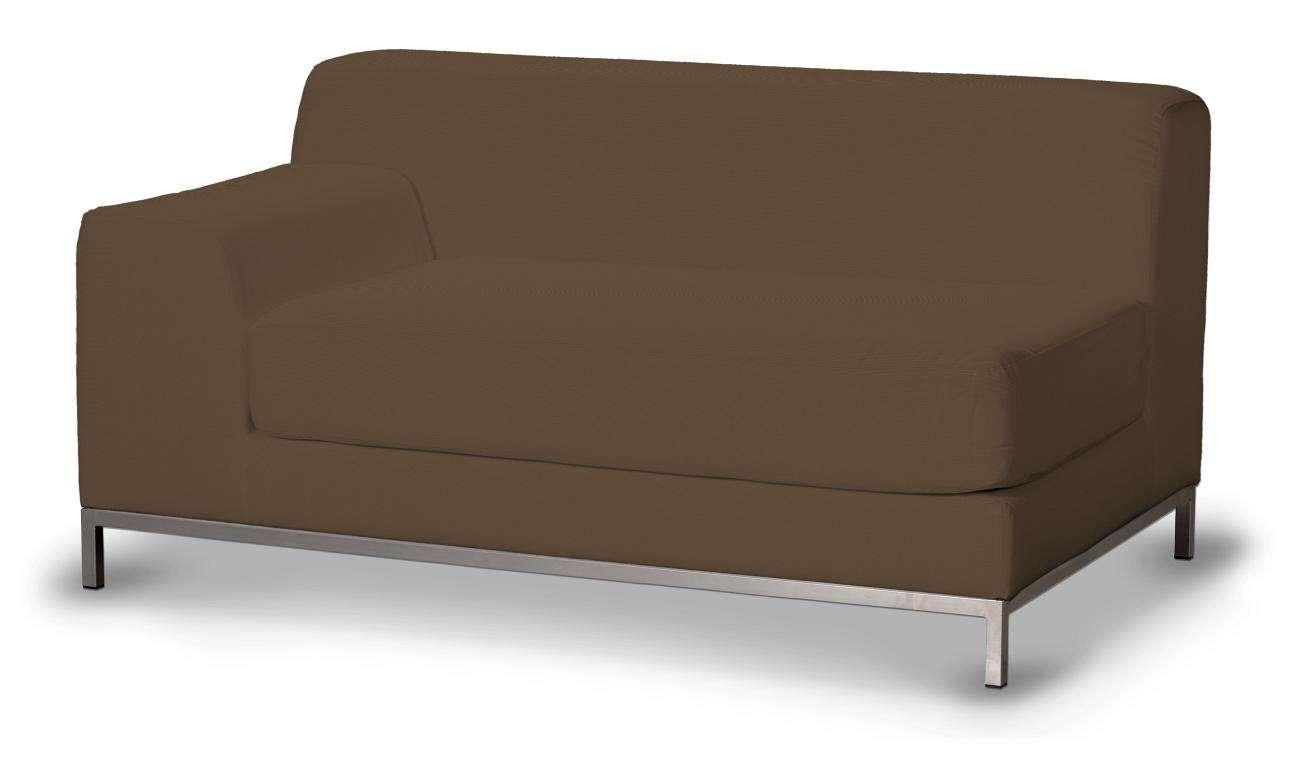 Pokrowiec na sofę lewostronną Kramfors 2-osobową w kolekcji Cotton Panama, tkanina: 702-02