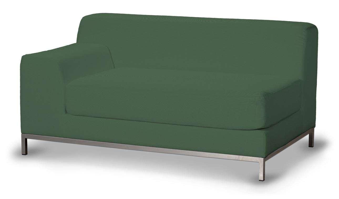 Pokrowiec na sofę lewostronną Kramfors 2-osobową w kolekcji Cotton Panama, tkanina: 702-06