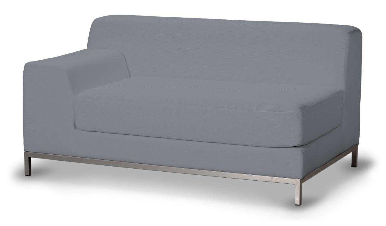 Pokrowiec na sofę lewostronną Kramfors 2-osobową w kolekcji Cotton Panama, tkanina: 702-07