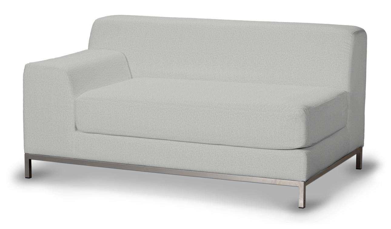 Pokrowiec na sofę lewostronną Kramfors 2-osobową w kolekcji Chenille, tkanina: 702-23