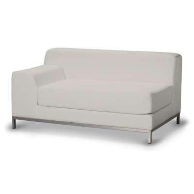 Pokrowiec na sofę lewostronną Kramfors 2-osobową w kolekcji Cotton Panama, tkanina: 702-31