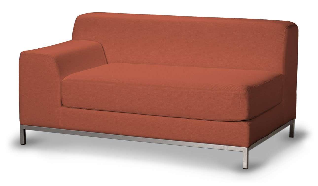Pokrowiec na sofę lewostronną Kramfors 2-osobową w kolekcji Ingrid, tkanina: 705-37