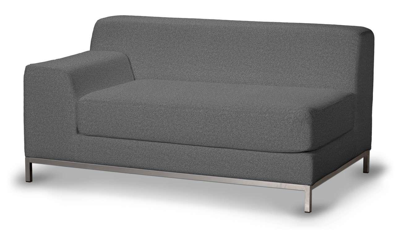 Pokrowiec na sofę lewostronną Kramfors 2-osobową w kolekcji Amsterdam, tkanina: 704-47