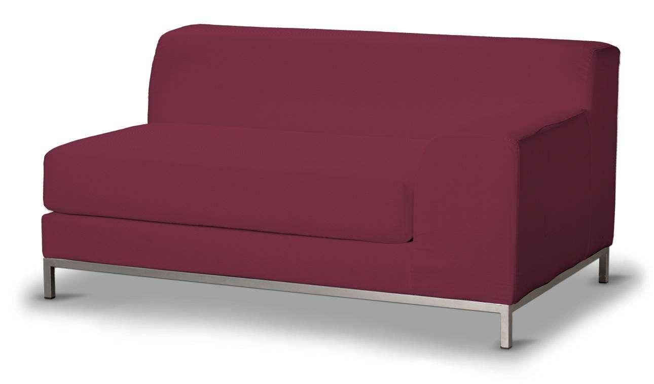 Pokrowiec na sofę prawostronną Kramfors 2-osobową w kolekcji Cotton Panama, tkanina: 702-32