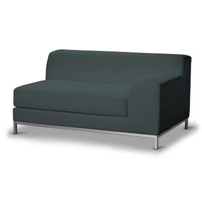 Pokrowiec na sofę prawostronną Kramfors 2-osobową 705-36 zgaszony szmaragd - welwet Kolekcja Ingrid