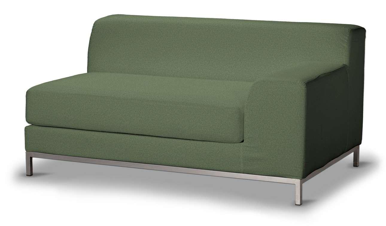 Pokrowiec na sofę prawostronną Kramfors 2-osobową w kolekcji Amsterdam, tkanina: 704-44
