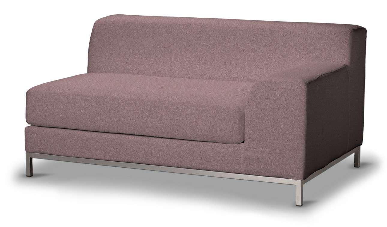 Pokrowiec na sofę prawostronną Kramfors 2-osobową w kolekcji Amsterdam, tkanina: 704-48