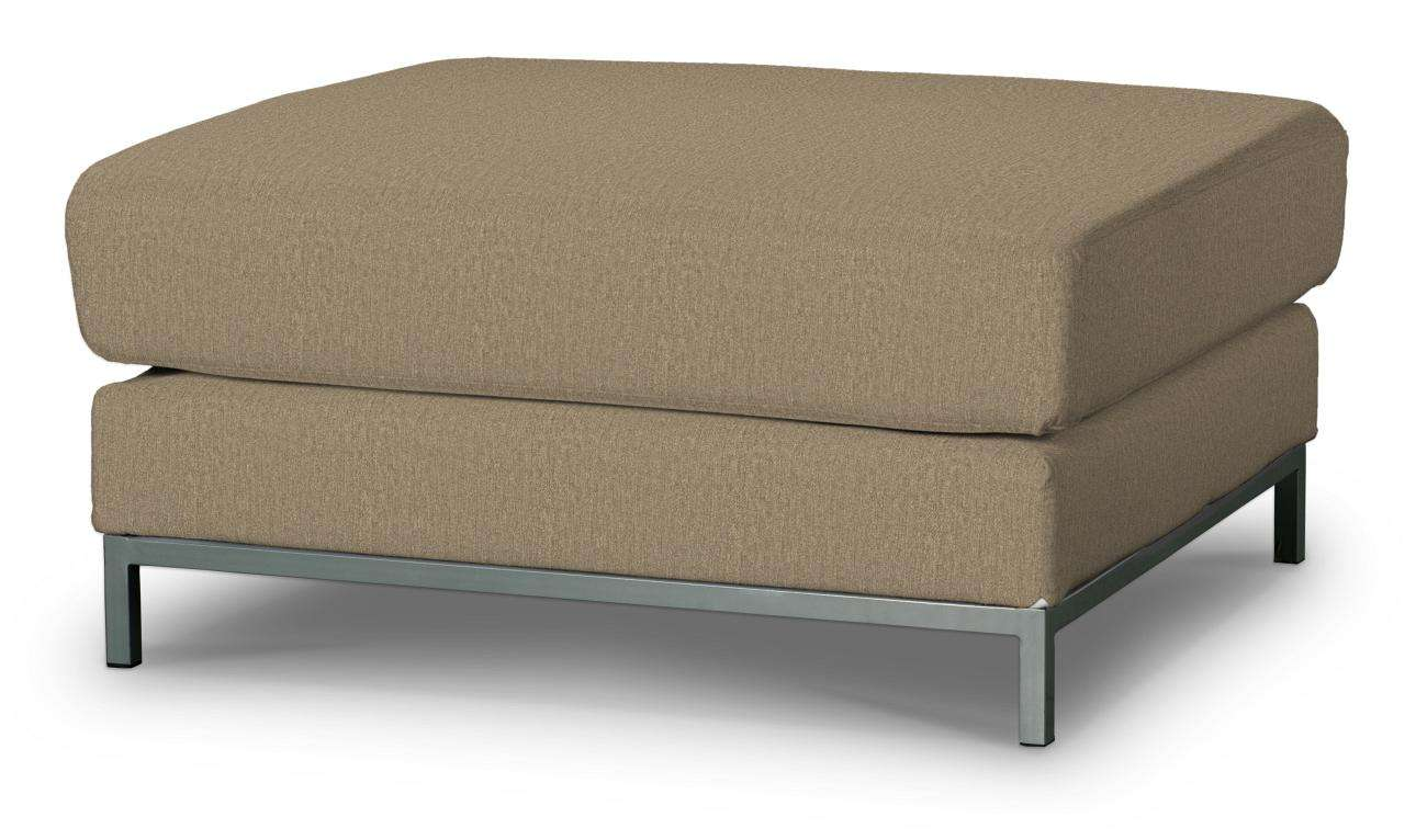 Kramfors footstool cover in collection Chenille, fabric: 702-21