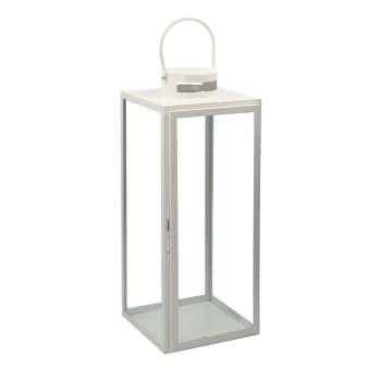 Lampion Metalowy Elegance White  63 cm