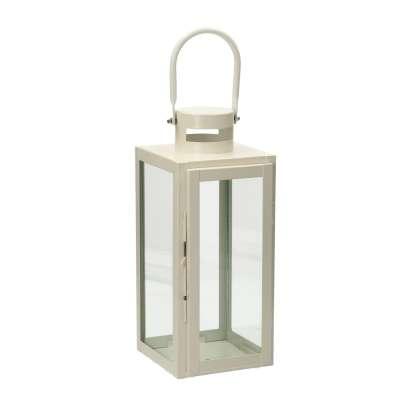 Laterne Elegance White 40 cm