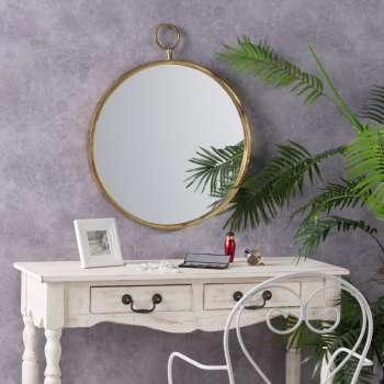 Spiegel Old Gold 55cm