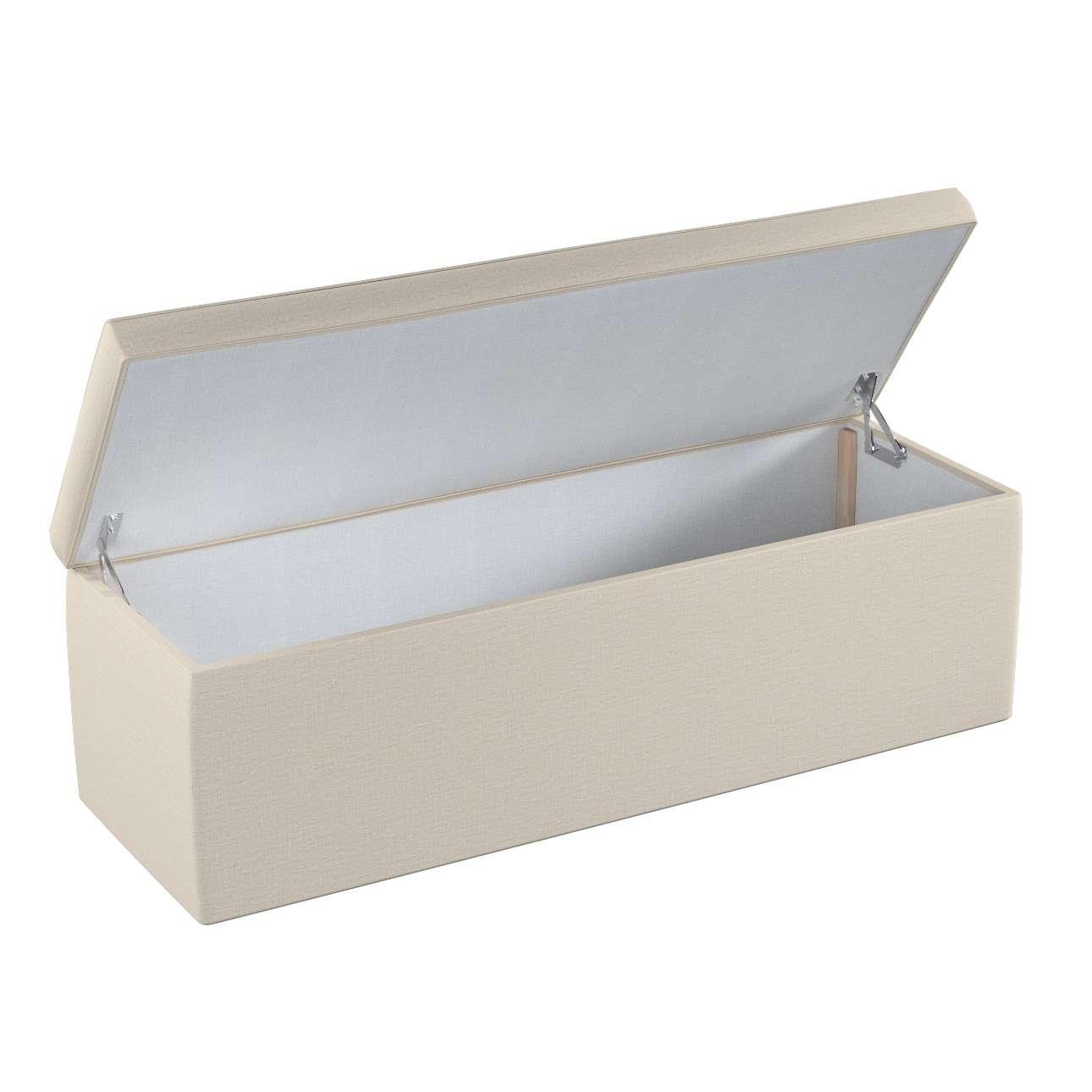 Dežė/skrynia/daiktadėžė 90 x 40 x 40 cm kolekcijoje Linen , audinys: 392-05