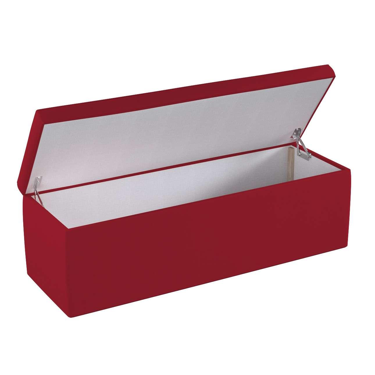 Dežė/skrynia/daiktadėžė 90 × 40 × 40 cm kolekcijoje Chenille, audinys: 702-24