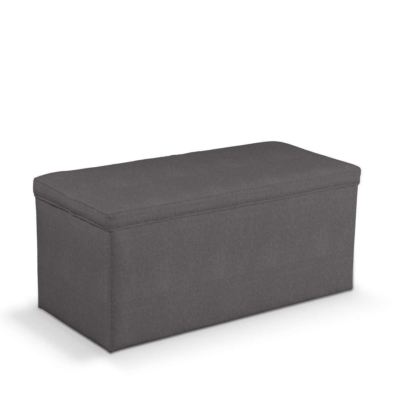 Truhe 90 x 40 x 40 cm von der Kollektion Etna, Stoff: 705-35
