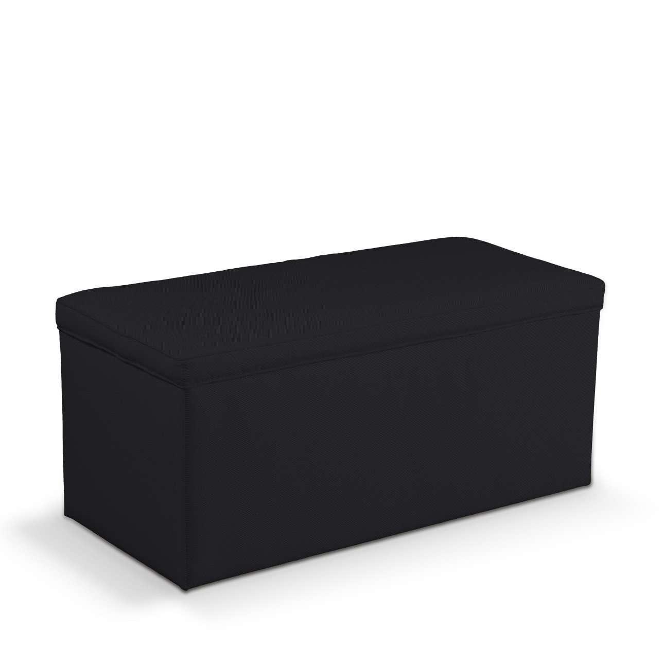 Truhe 90 x 40 x 40 cm von der Kollektion Etna, Stoff: 705-00