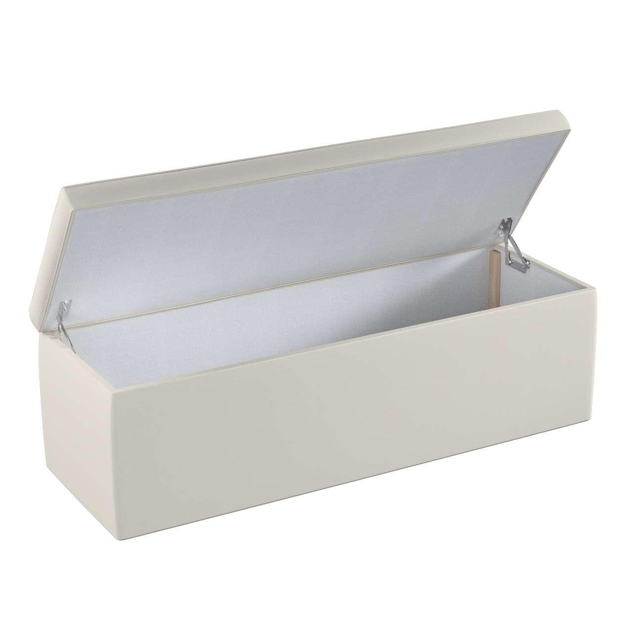 Čalouněná skřín 90 x 40 x 40 cm v kolekci Cotton Panama, látka: 702-31