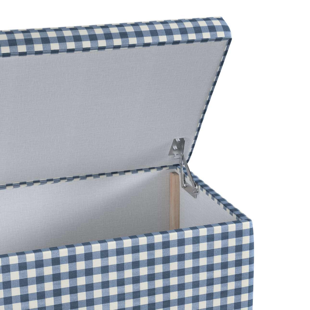 Čalouněná skříň s volbou látky - 2 velikosti v kolekci Quadro, látka: 136-01