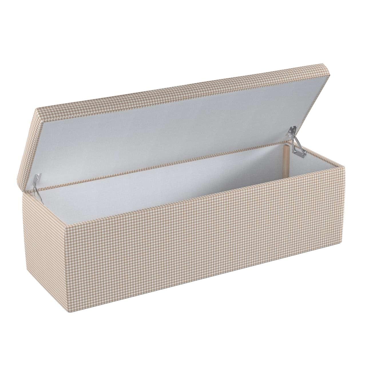 Dežė/skrynia/daiktadėžė 90 x 40 x 40 cm kolekcijoje Quadro, audinys: 136-05