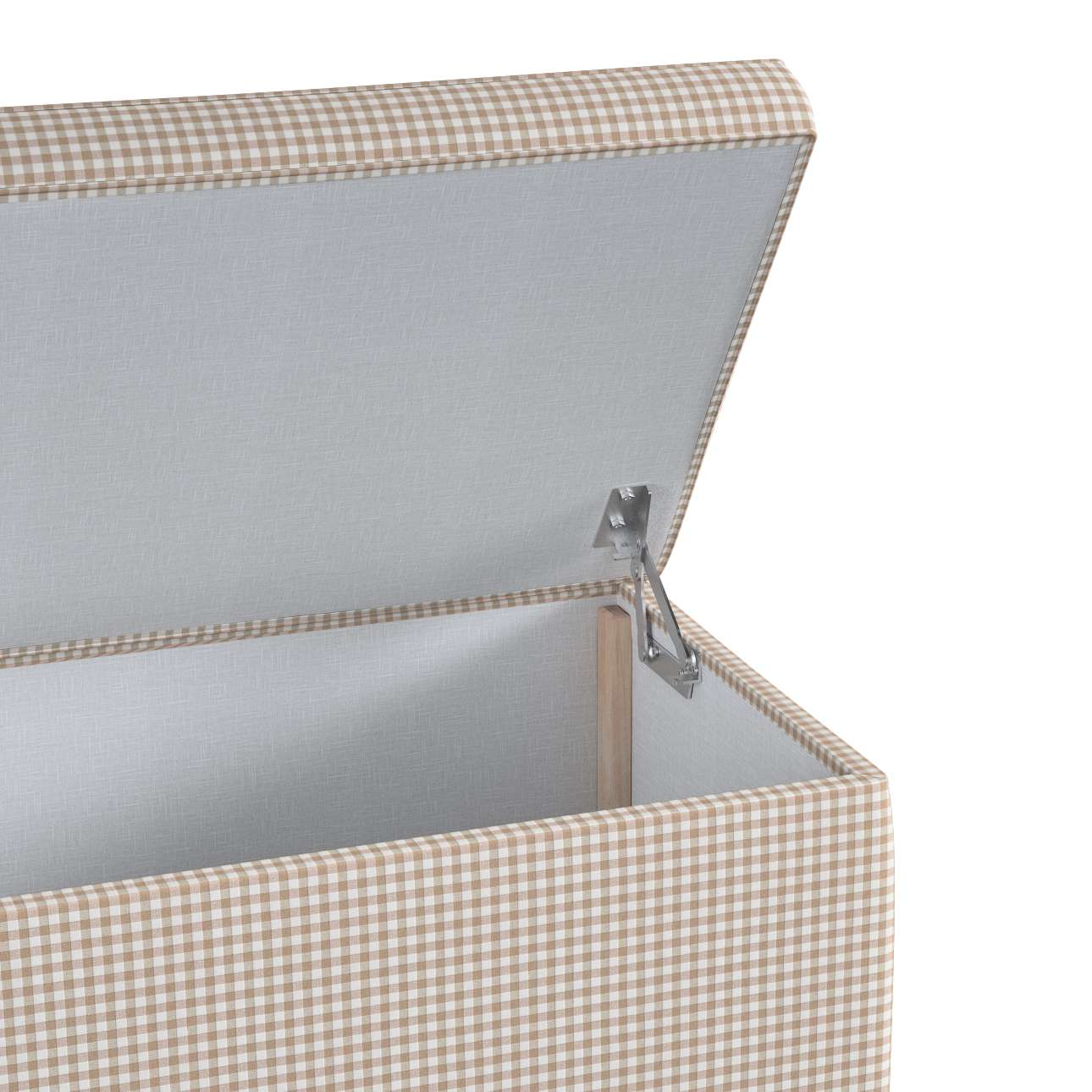 Truhlica čalúnená V kolekcii Quadro, tkanina: 136-05