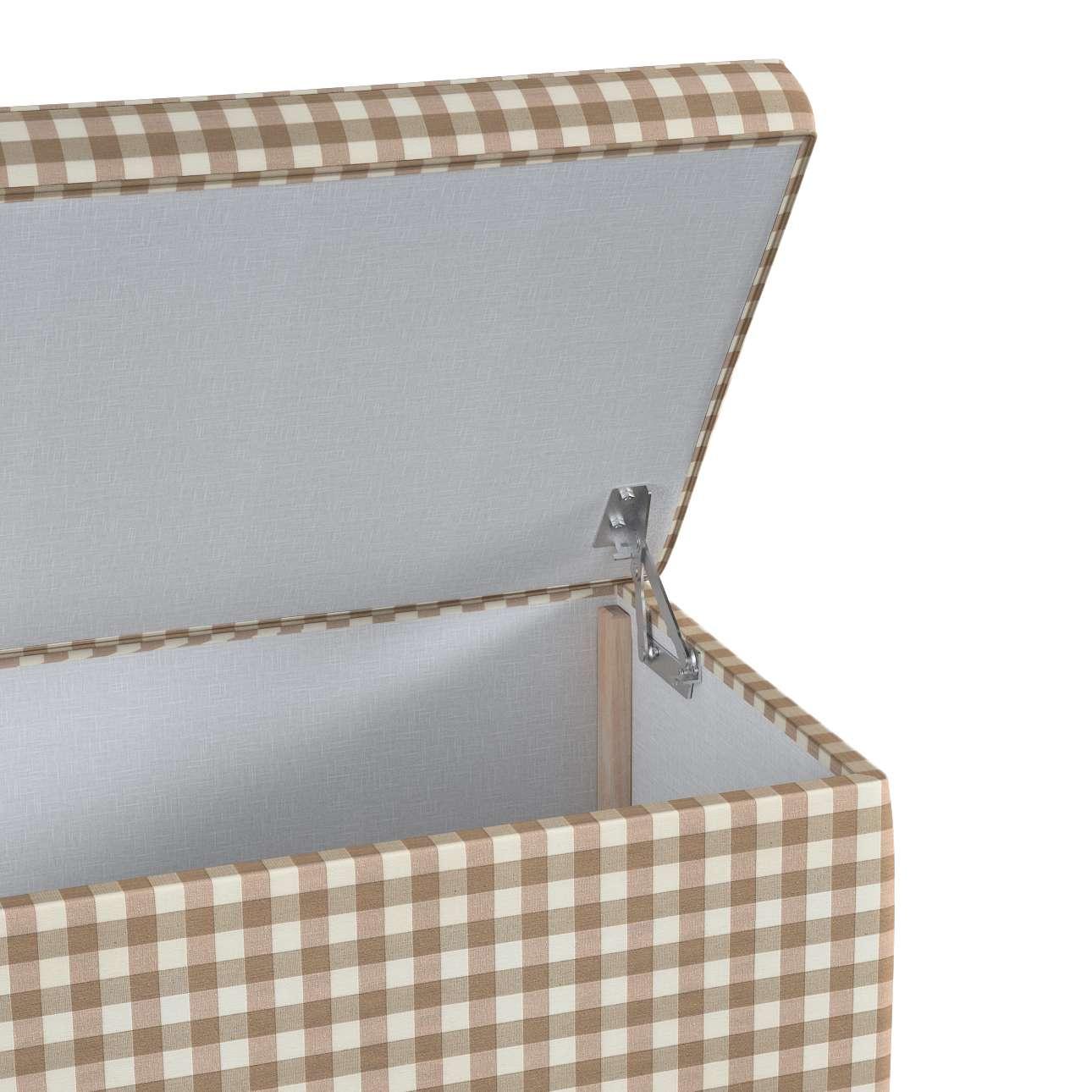 Truhlica čalúnená V kolekcii Quadro, tkanina: 136-06
