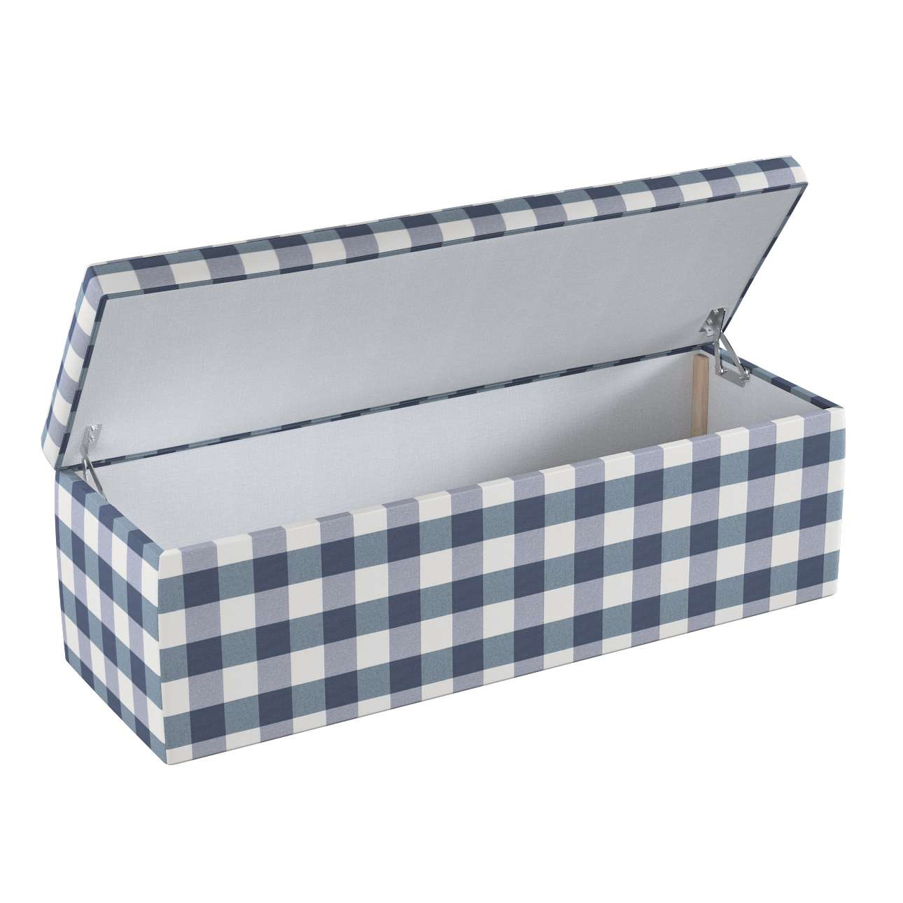 Čalouněná skříň 90 × 40 × 40 cm v kolekci Quadro, látka: 136-03