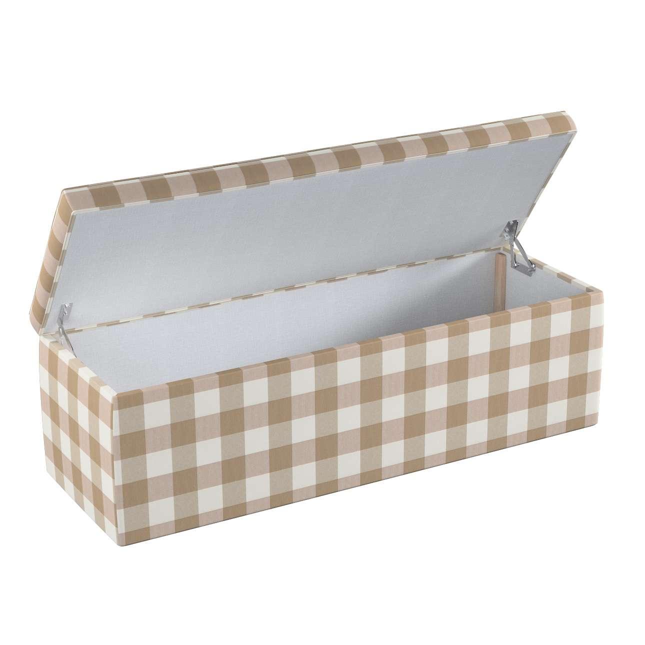 Čalouněná skříň 90 x 40 x 40 cm v kolekci Quadro, látka: 136-08