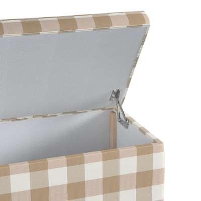 Truhlica čalúnená V kolekcii Quadro, tkanina: 136-08