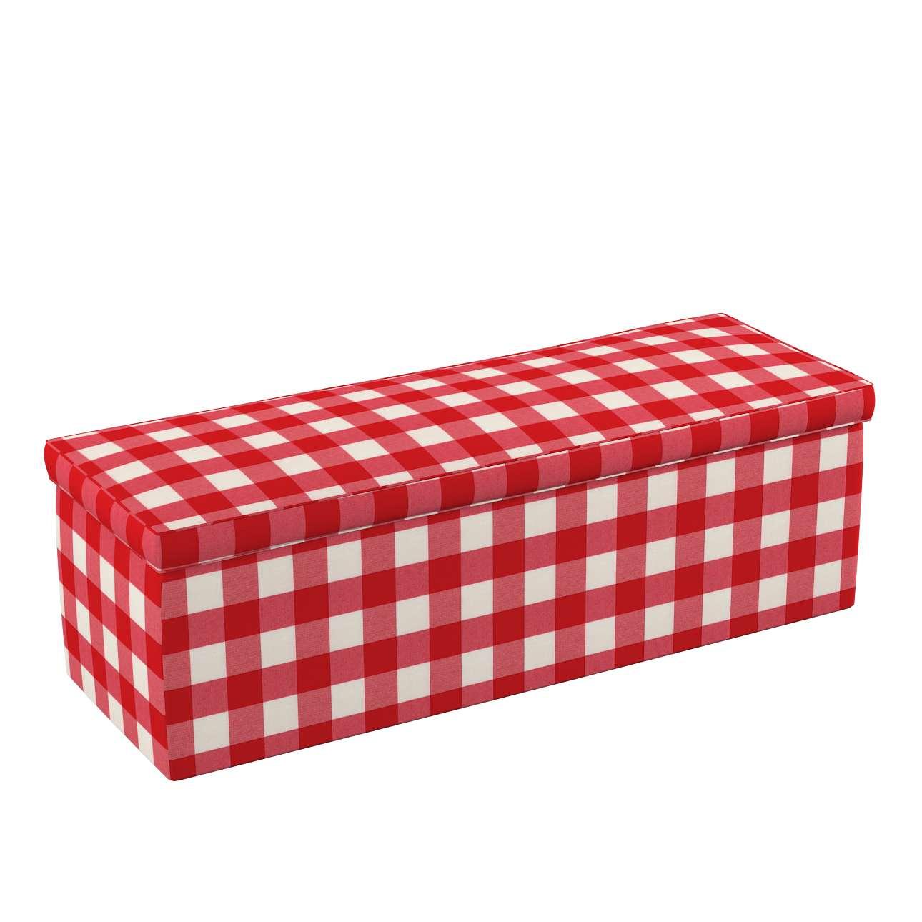 Čalouněná skříň s volbou látky - 2 velikosti v kolekci Quadro, látka: 136-18