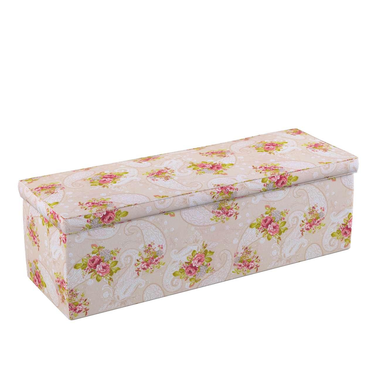 Truhlica čalúnená V kolekcii Flowers, tkanina: 311-15