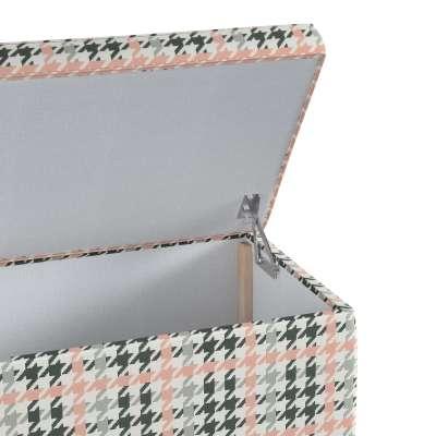 Skrzynia tapicerowana w kolekcji do -50%, tkanina: 137-75
