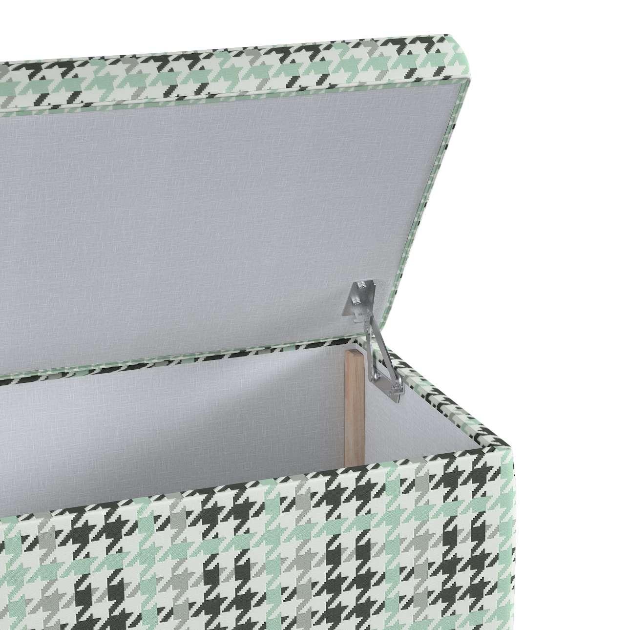 Skrzynia tapicerowana w kolekcji Wyprzedaż do -50%, tkanina: 137-77