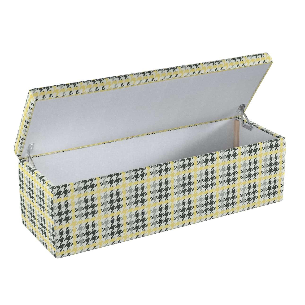 Skrzynia tapicerowana w kolekcji Wyprzedaż do -50%, tkanina: 137-79
