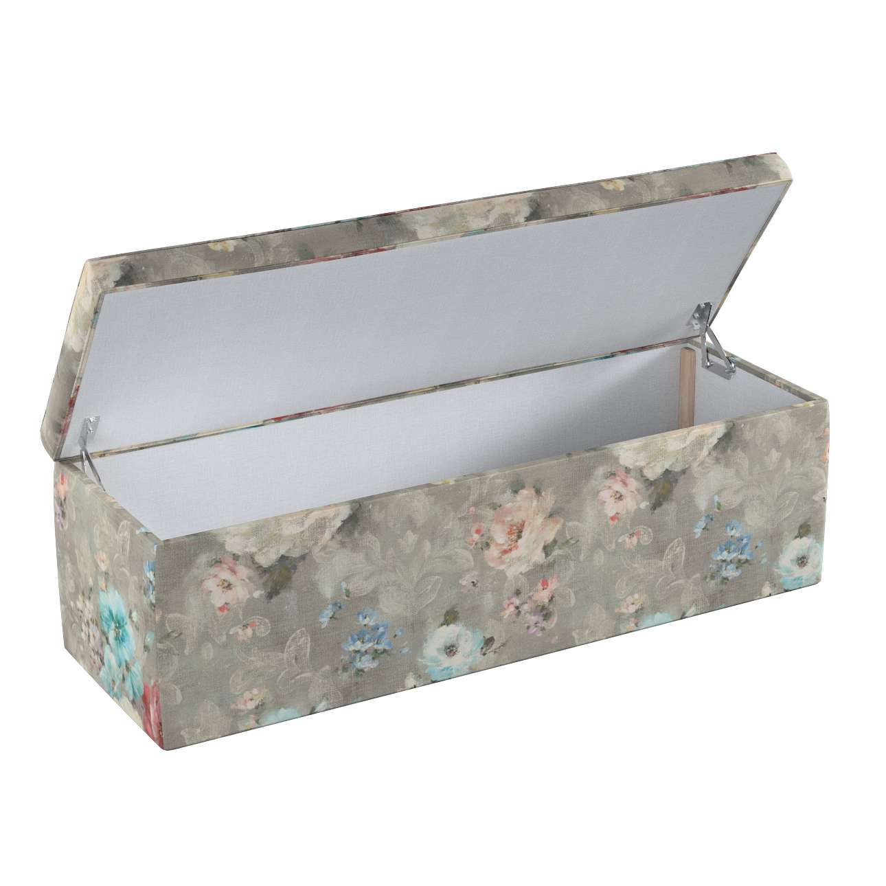 Skrzynia tapicerowana 90x40x40 cm w kolekcji Monet, tkanina: 137-81