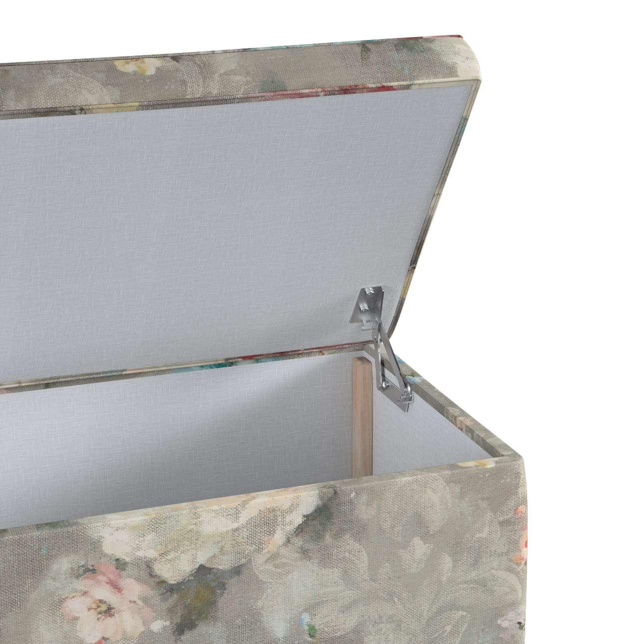 Skrzynia tapicerowana w kolekcji Monet, tkanina: 137-81