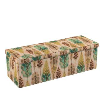 Truhe 90 x 40 x 40 cm von der Kollektion Urban Jungle, Stoff: 141-60