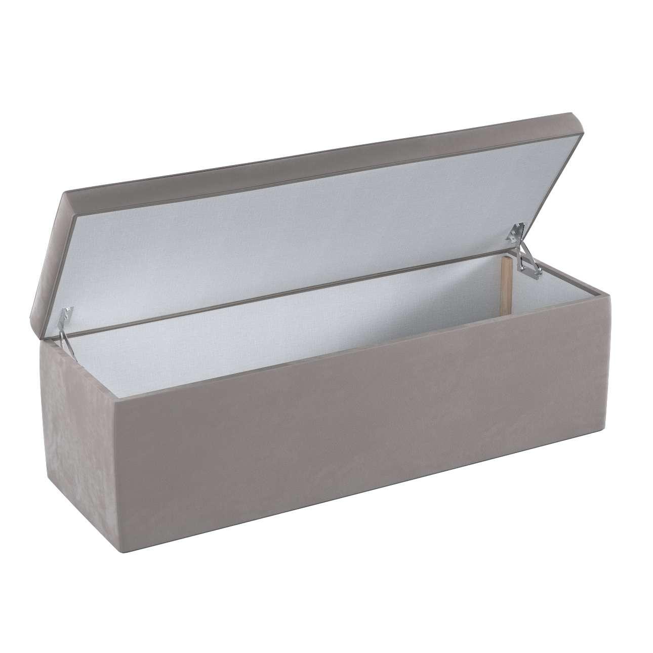 Dežė/skrynia/daiktadėžė 90 × 40 × 40 cm kolekcijoje Velvet, audinys: 704-11
