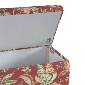 Skrzynia tapicerowana w kolekcji Gardenia, tkanina: 142-12