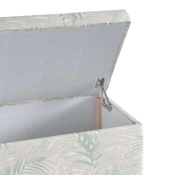 Skrzynia tapicerowana w kolekcji Gardenia, tkanina: 142-15