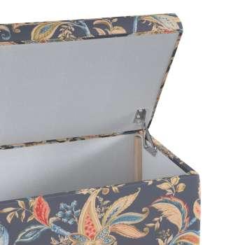 Skrzynia tapicerowana w kolekcji Gardenia, tkanina: 142-19