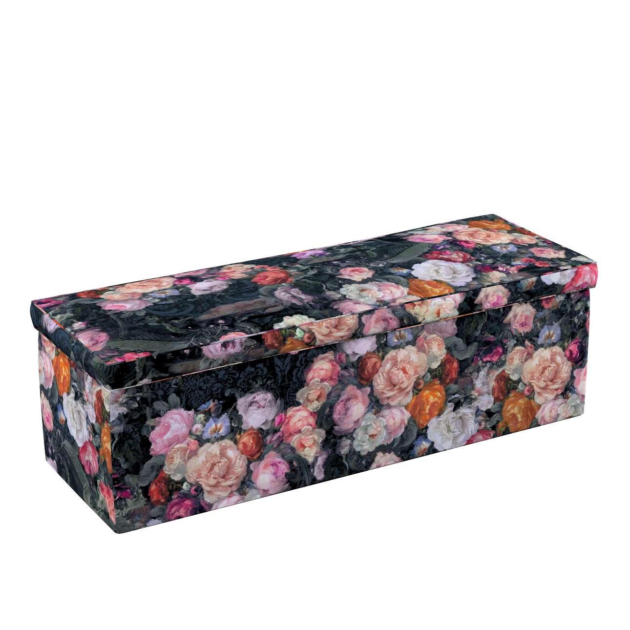 Truhlica čalúnená V kolekcii Gardenia, tkanina: 161-02