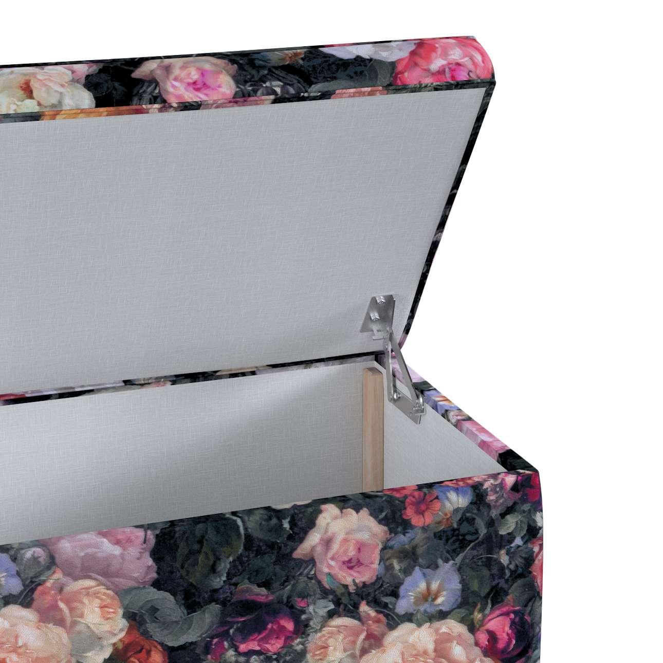 Skrzynia tapicerowana w kolekcji Gardenia, tkanina: 161-02