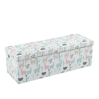 Upholstered storage chest in collection Magic Collection, fabric: 500-01
