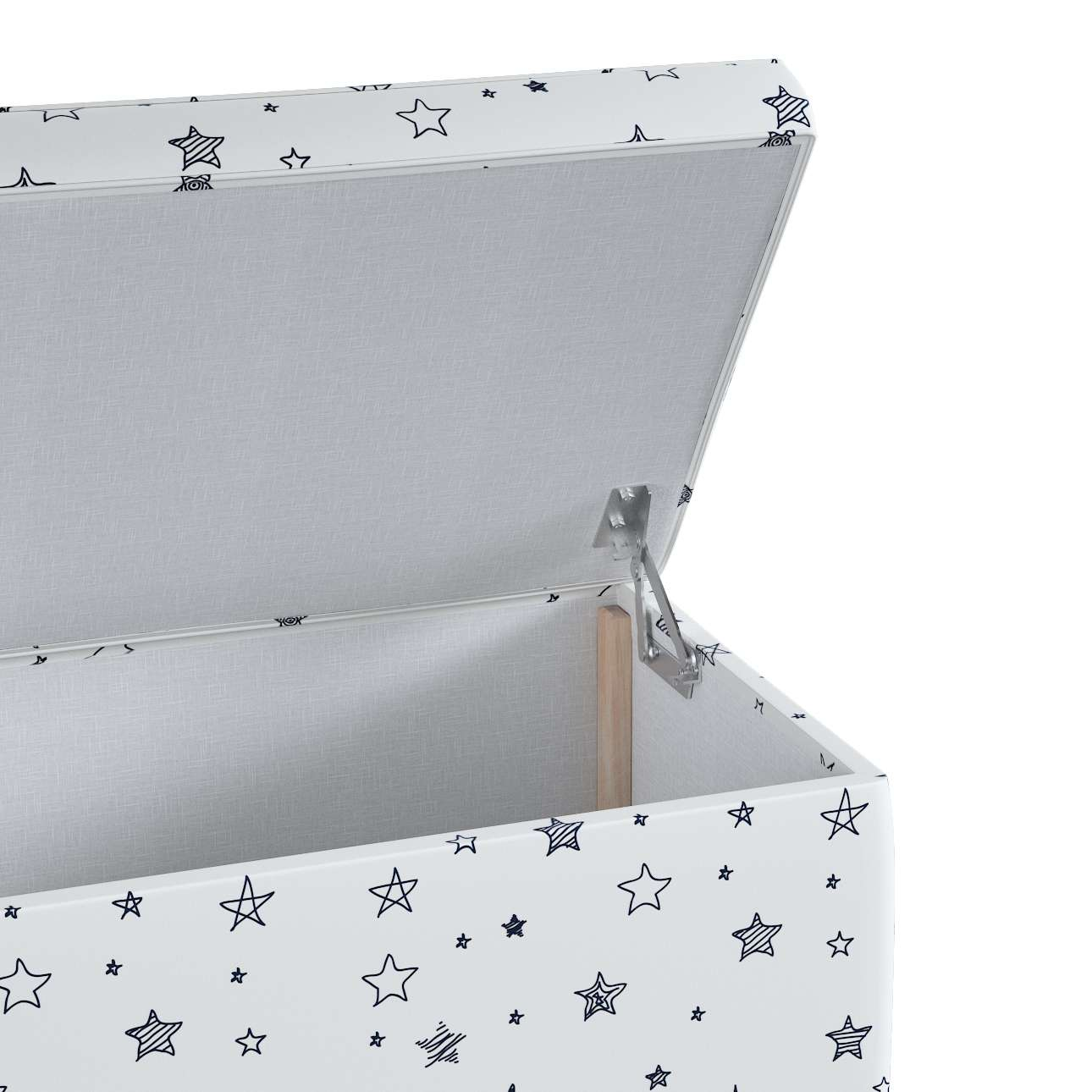 Upholstered storage chest in collection Magic Collection, fabric: 500-08
