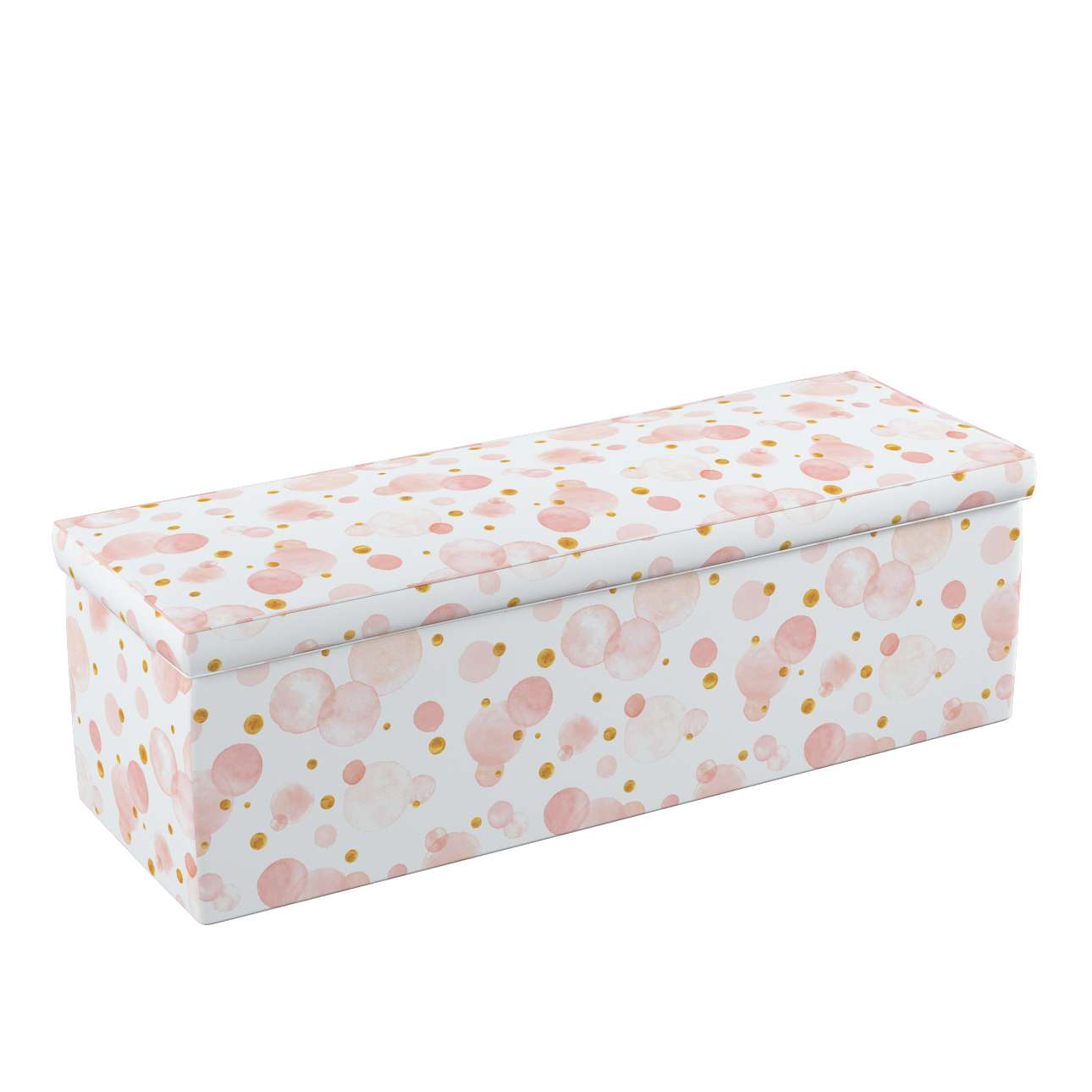 Upholstered storage chest in collection Magic Collection, fabric: 500-13