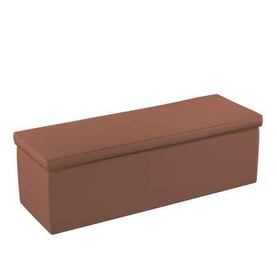 Čalouněný úložný sedací box 133-09 hnědý Kolekce Happiness